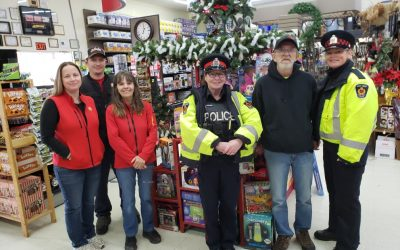 West Grey Police Annual Toy Drive Kickoff